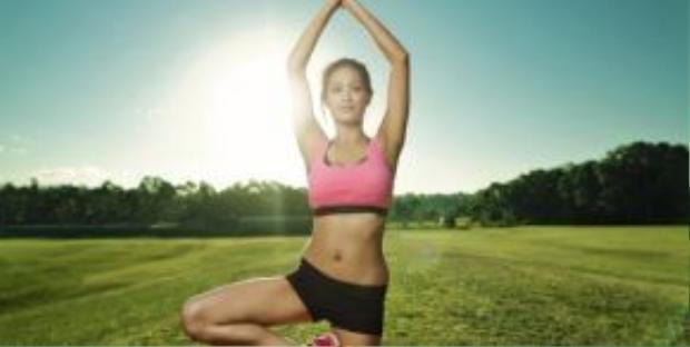 Chỉ với 45 phút mỗi ngày cho các bài tập thể dục như Cardio, Squat, Plank để có một thân hình săn chắc, cường tráng.