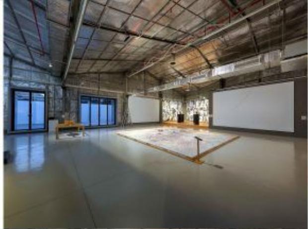 """Đây là buổi triển lãm nằm trong dự án nghệ thuật lớn mang tên """"Nhận thức thực tại"""", được khởi tạo và tổ chức bởi """"Sàn Art"""" qua chương trình hợp tác với quỹ """"Prince Clause""""."""