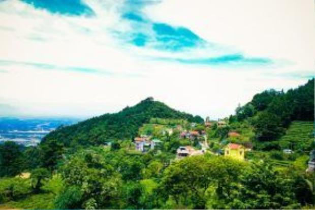 Vượt qua những dãy rừng xanh mướt, Tam Đảo dần hiện ra trước mắt bạn. Xa xa là những ngôi nhà nhiều màu sắc ẩn mình giữa một không gian xanh ngát.