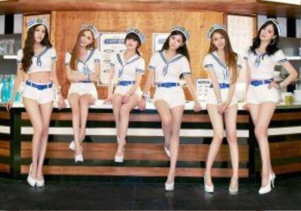 So Crazy là sản phẩm mới nhất của các cô gái tại Hàn.