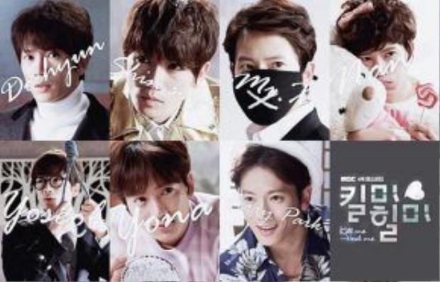 Bảy nhân cách trong một con người được Ji Sung thể hiện sống động.
