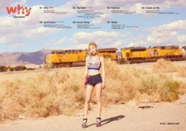 Danh sách tên các ca khúc trong mini album Why cũng đã được SM hé lộ.