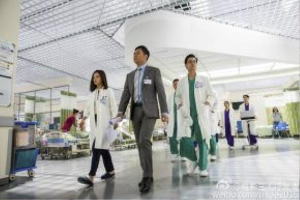 Câu chuyện phần lớn xảy ra ở bệnh viện