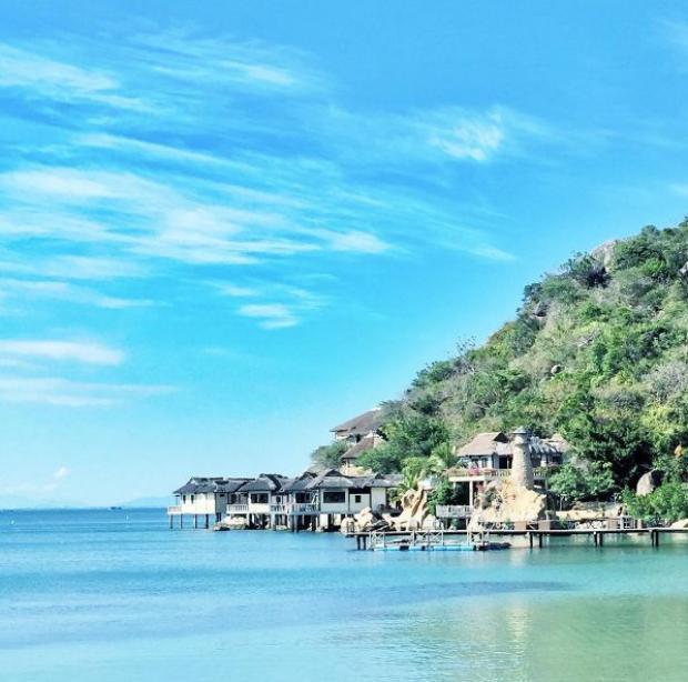 Resort từng lên phim Thanh Hằng  Hà Tăng đóng ngày càng nổi danh