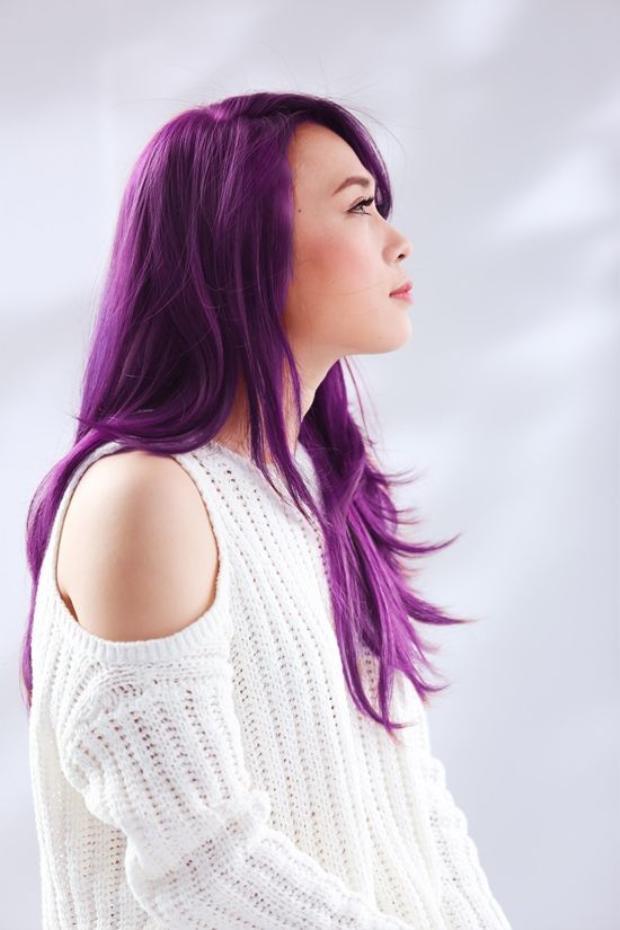 Chia tay tóc nâu, Mỹ Tâm trình làng tóc tím: Đều có lý do cả!