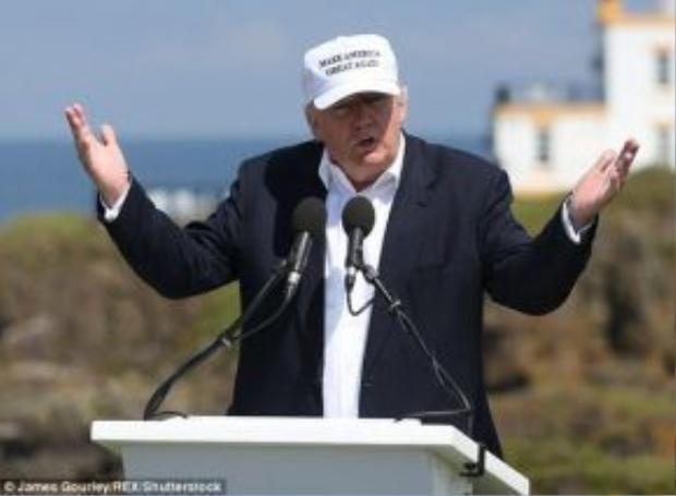 Ngài Trump đang hi vọng rằng nước Mỹ sẽ tìm lại chính mình bằng cách vote cho ông cho đợt bầu cử tháng 11 sắp tới.