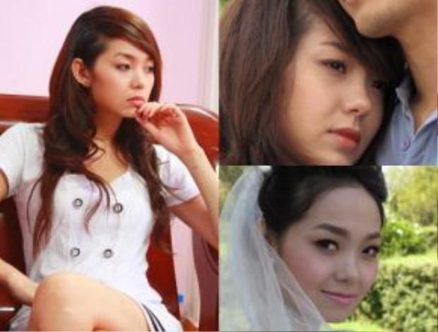 Minh Hằng với vai diễn nhiều nội tâm phức tạp trong Đối mặt.