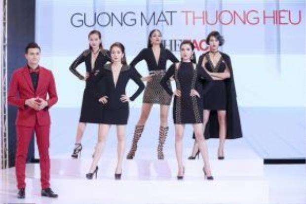 4 thí sinh còn lại trong team Phạm Hương tiếp tục bước vào nhà chung: Ngọc Loan, An Ngụy, Khánh Ngân và Diệp Linh Châu.