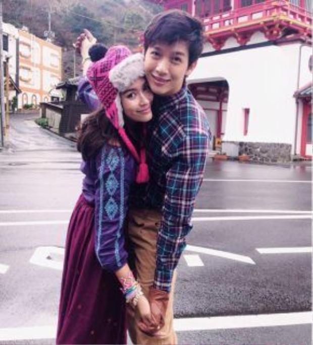 Jooy chính là cô gái chiếm được trái tim của chàng trai hào hoa Push.