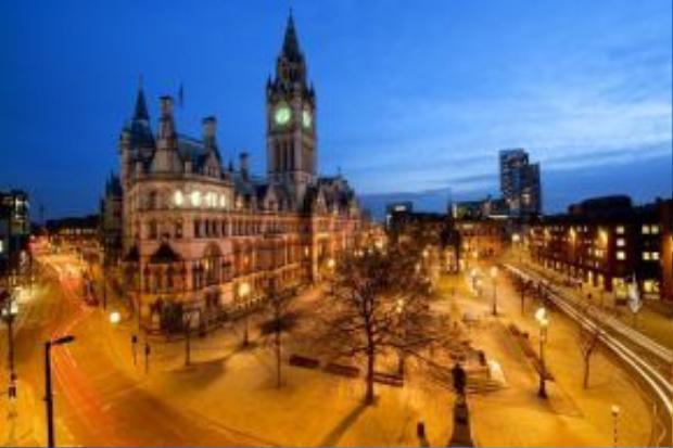 Một góc thành phố Manchester, nằm ở phía đông bắc nước Anh, đồng thời cũng là đô thị lớn thứ hai của quốc gia này.