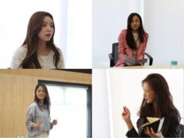 Một số diễn viên tham gia buổi casting ở Hàn Quốc.