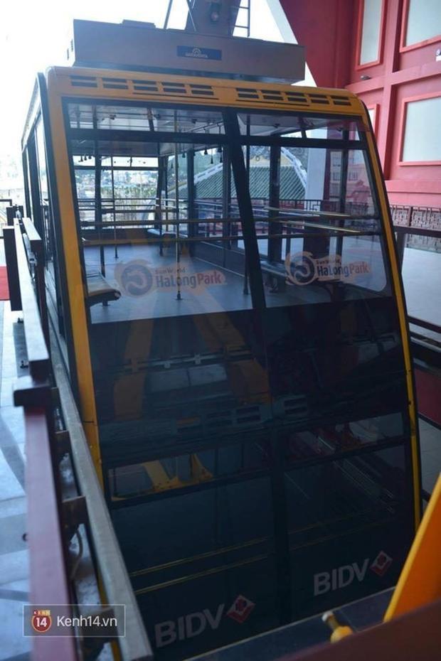 Cận cảnh cáp treo mới với cabin có sức chứa 230 người tại Quảng Ninh