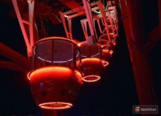 Mỗi cabin của Sunwheel có sức chứa 5 người.