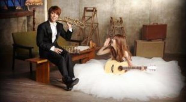 Jonghyun và Seohyun trong We Got Marriedđình đám một thời.