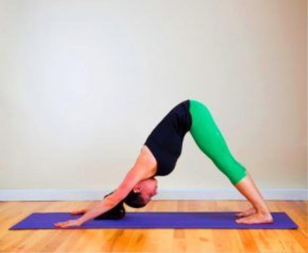 Tư thế chữ V ngược giúp thúc đẩy sự tuần hoàn máu lên não, đầu, cổ, ngón tay và gót chân. Giúp cơ chân, tay và các khớp khoẻ mạnh, giảm bớt lượng mỡ ở chân và tay. Ngoài ra, bài tập yoga cơ bản này còn giúp tăng người sức bật, trí nhớ và sự sáng tạo.