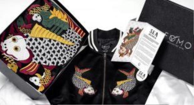 Mẫu Souvenir jacket mới ra lò của một thương hiệu thời trang Việt.