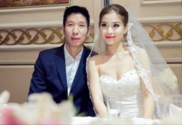 Ông xã của Diễm Trang hiện là một doanh nhân làm việc tại Ba Lan. Sau hôn lễ, người đẹp đã mang thai và đang trong giai đoạn chờ đón đứa con đầu lòng.