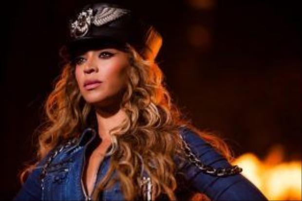 Thì Beyoncé đã là một tượng đài trong lòng cô ấy.