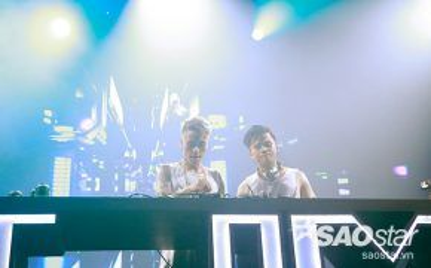 Cặp đôi DJ Minh Trí và Get Looze.