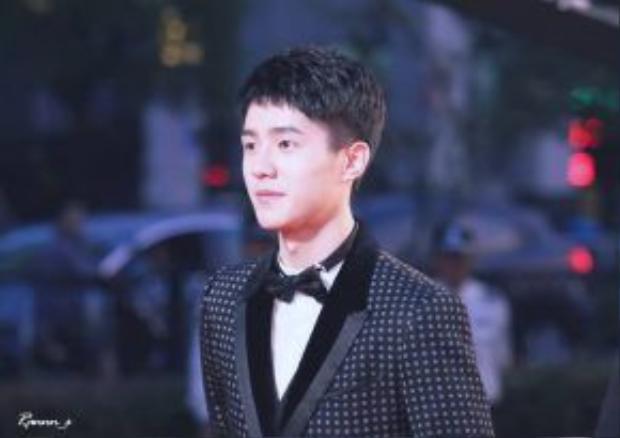 Thời gian này Lưu Hạo Nhiên đang bận thi học kỳ nên không nhận thêm kịch bản phim. Đây là hình ảnh mới nhất của mỹ nam 9X tại Liên hoan phim quốc tế Thượng Hải hồi giữa tháng 6.
