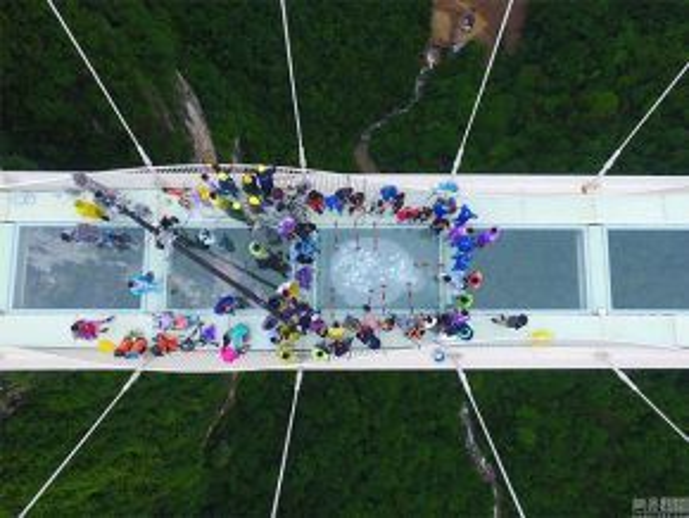 Cầu dự kiến được mở vào tháng 7.
