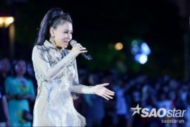 Sự trở lại lần này của nữ ca sĩ hứa hẹn là một trong những tiết mục được chờ đợi nhất trong chương trình.