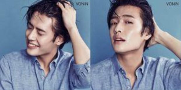 Khả năng diễn xuất tài tình và những nét duyên ngầm, Kang Ha Neul hứa hẹn đem đến ngành quảng cáo mỹ phẩm làn gió mới.