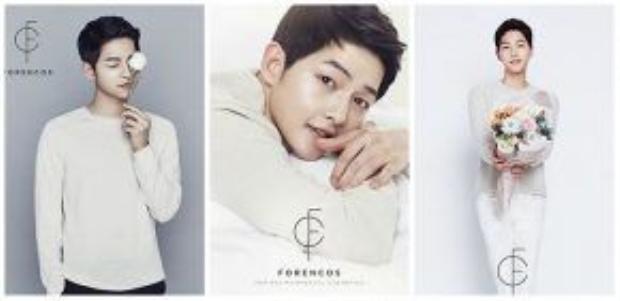 Nổi tiếng với làn da đẹp không tỳ vết, không lạ khi Song Joong Ki liên tiếp nhận được lời mời làm gương mặt đại diện cho các hãng mỹ phẩm.