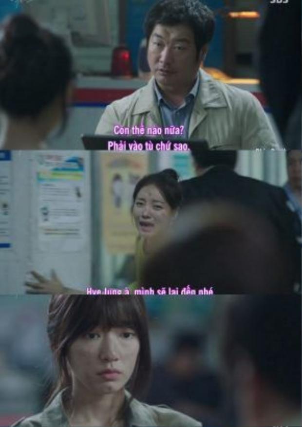 Soon He nhanh chóng được thả nhờ có sự giúp đỡ của gia đình còn Hye Jung ở lại gánh hết tội lỗi.