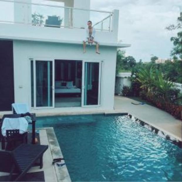 Hồ bơi của Vip Villa Pattaya.