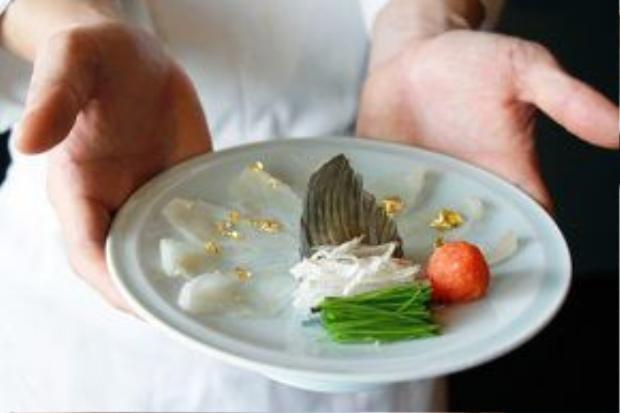 """Fugu được nhiều vị khách """"đại gia"""" săn đón với mức giá khoảng200 USD."""