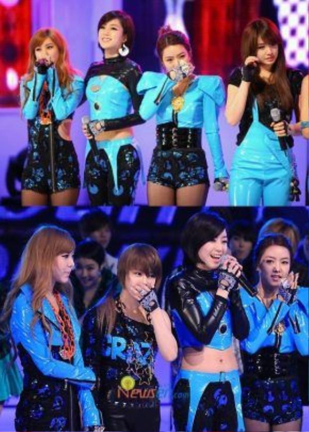 Chỉ 2 tháng sau, 6 cô gáitiếp tục giành chiến thắng với I Go Crazy Because Of You.