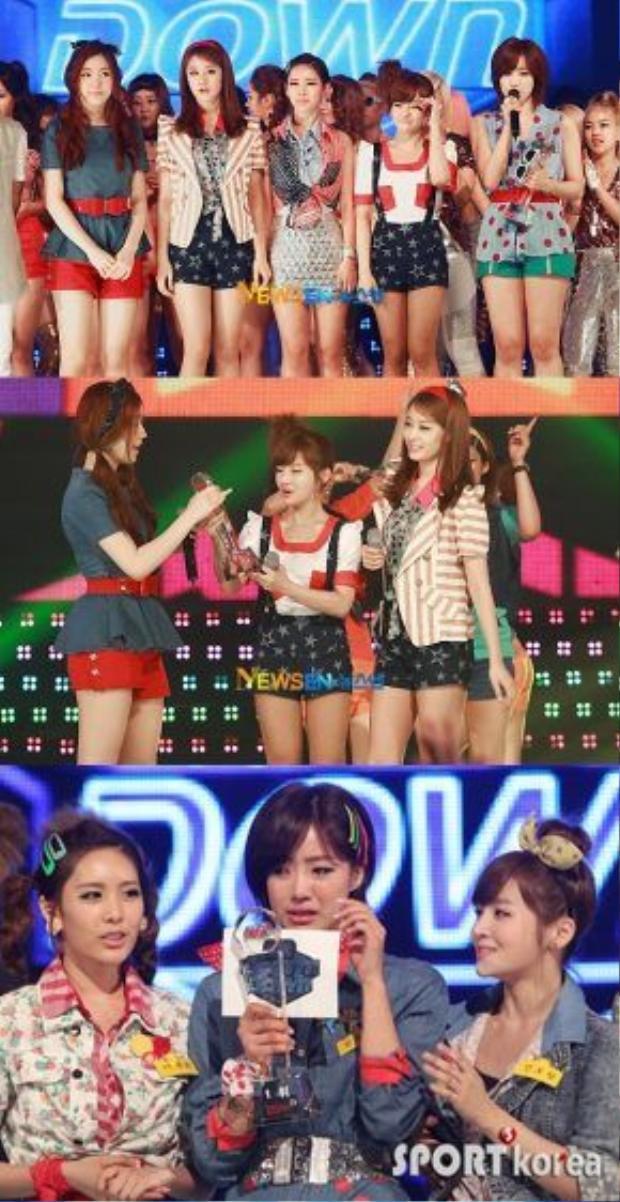 Roly Poly chính là ca khúc thành công nhất trong sự nghiệp của T-ara. Bản hit này sở hữu tới hơn 4 triệu lượt download tại Hàn. Không có gì ngạc nhiên khi lại có thêm nhiều chiếc cúp được T-ara rinh về.