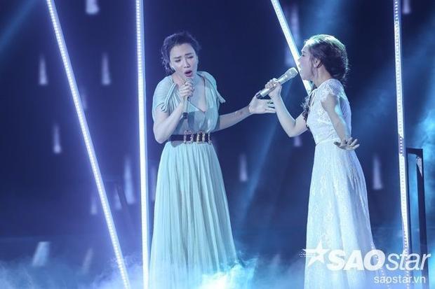 Lối trang điểm nhẹ nhàng cùng mái tóc tết nữ tính giúp Minh Như phần nào gây thiện cảm với khán giả vì hình ảnh cùa mình.