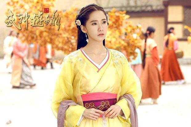 Yoona đẹp xuất sắc trong tạo hình cổ trang Trung Quốc.