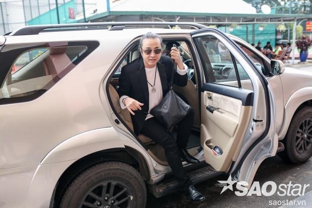 Nhạc sĩ Lê Minh Sơn trong ngày ghi hình đầu tiên