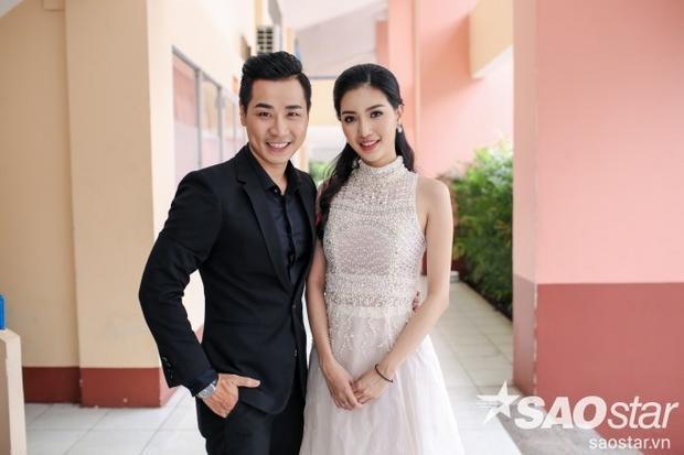Cặp đôi MC Nguyên Khang và Mỹ Linh