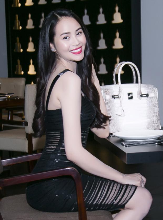 Diễn viên Sella Trương cũng sở hữu chiếc túi huyền thoại này.