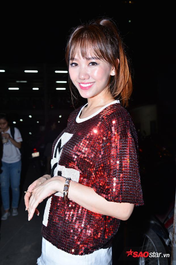 Hari Won xinh đẹp xuất hiện tại sự kiện.