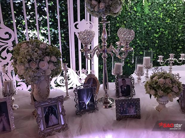 Nơi trưng bày ảnh cướii theo phong cách hoàng gia.