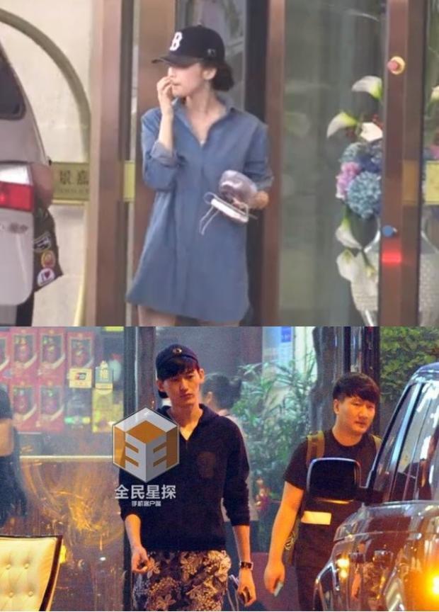 Trương Hàn và Na Trát kín đáo hẹn hò trước khi công khai chuyện tình cảm.