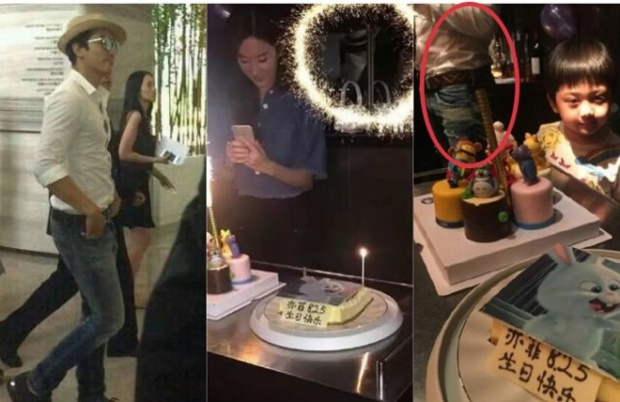 Buổi tiệc sinh nhật của Lưu Diệc Phi vào tháng 8 mới đây với sự tham gia của bạn trai Song Seung Hun.