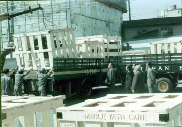 Cây Bonsai trên đường ra sân bay đi Mỹ.