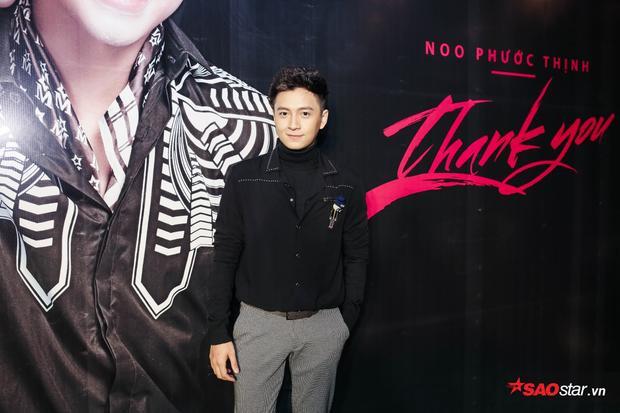 """Người bạn thân thiết của Noo Phước Thịnh - """"chàng Bắp"""" Ngô Kiến Huy cũng có mặt trong sự kiện."""
