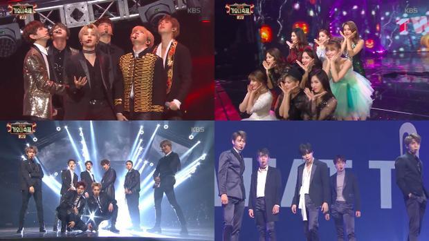 Tập trung hầu hết những gương mặt nổi bật nhưng KBS Song Festival năm nay không khác 1 tập Music Bank thông thường là mấy.