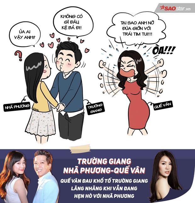 Tranh vẽ: Tổng kết năm 2016 đầy thị phi showbiz Việt