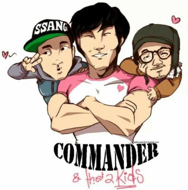 Kim Jong Kook và hai đứa trẻ là một trong những mối quan hệ nổi tiếng nhất trong Running Man.