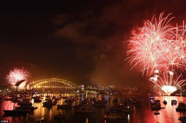 Hình ảnh lung linh tại Sydney.