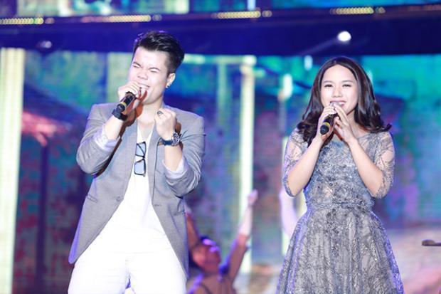 Đinh Mạnh Ninh và Thùy Chi.