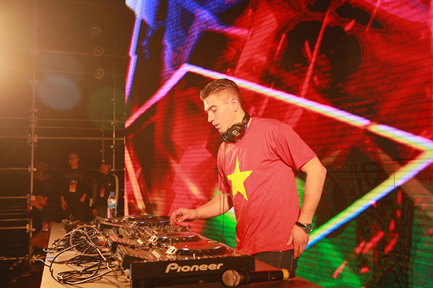 DJ Gerben Brouwer.